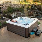 Backyard Makeover Hot Tub